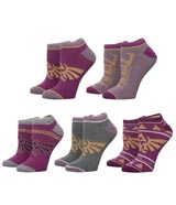 Legend of Zelda Twilight Princess Ankle Socks 5 Pack