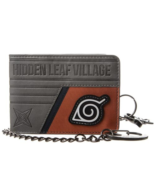 Naruto Shippuden Hidden Leaf Village Layered Bi-Fold Wallet