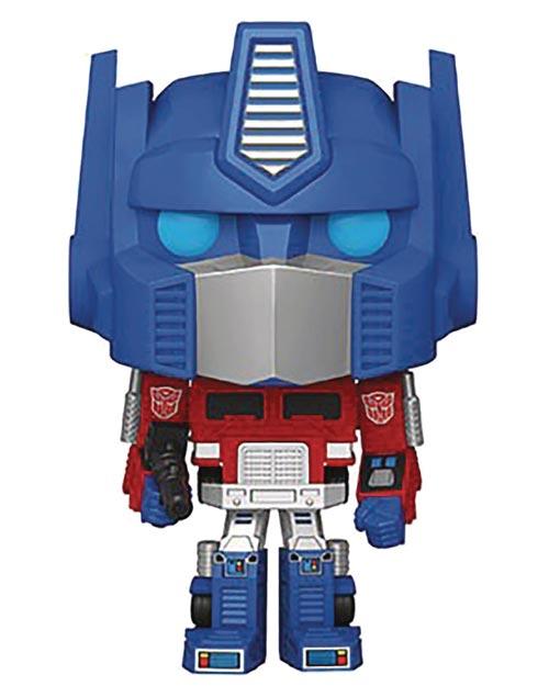 Pop Transformers Optimus Prime Vinyl Figure