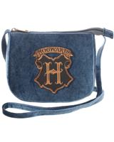 Harry Potter Hogwarts Velvet Crossbody Bag