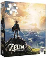 Zelda Breath Of The Wild 1000 Piece Puzzle
