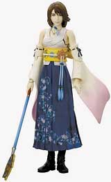 Final Fantasy X Play Arts Yuna Action Figure