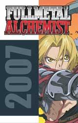 Fullmetal Alchemist: 2007 Wall Calendar