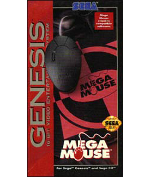 Genesis Mega Mouse with Pad by SEGA