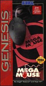 Genesis Mega Mouse with Pad by SEGA