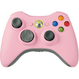 Xbox 360 Wireless Controller Pink Microsoft