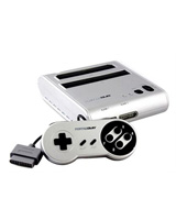 Retro Duo NES/SNES System Silver/Black