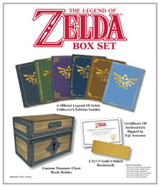 Legend of Zelda Box Set: Official Collector's Edition Guides