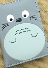 My Neighbor Totoro Gray Wallet