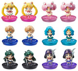 Sailor Moon Petit Chara Land Glitter Version 2 Trading Figures