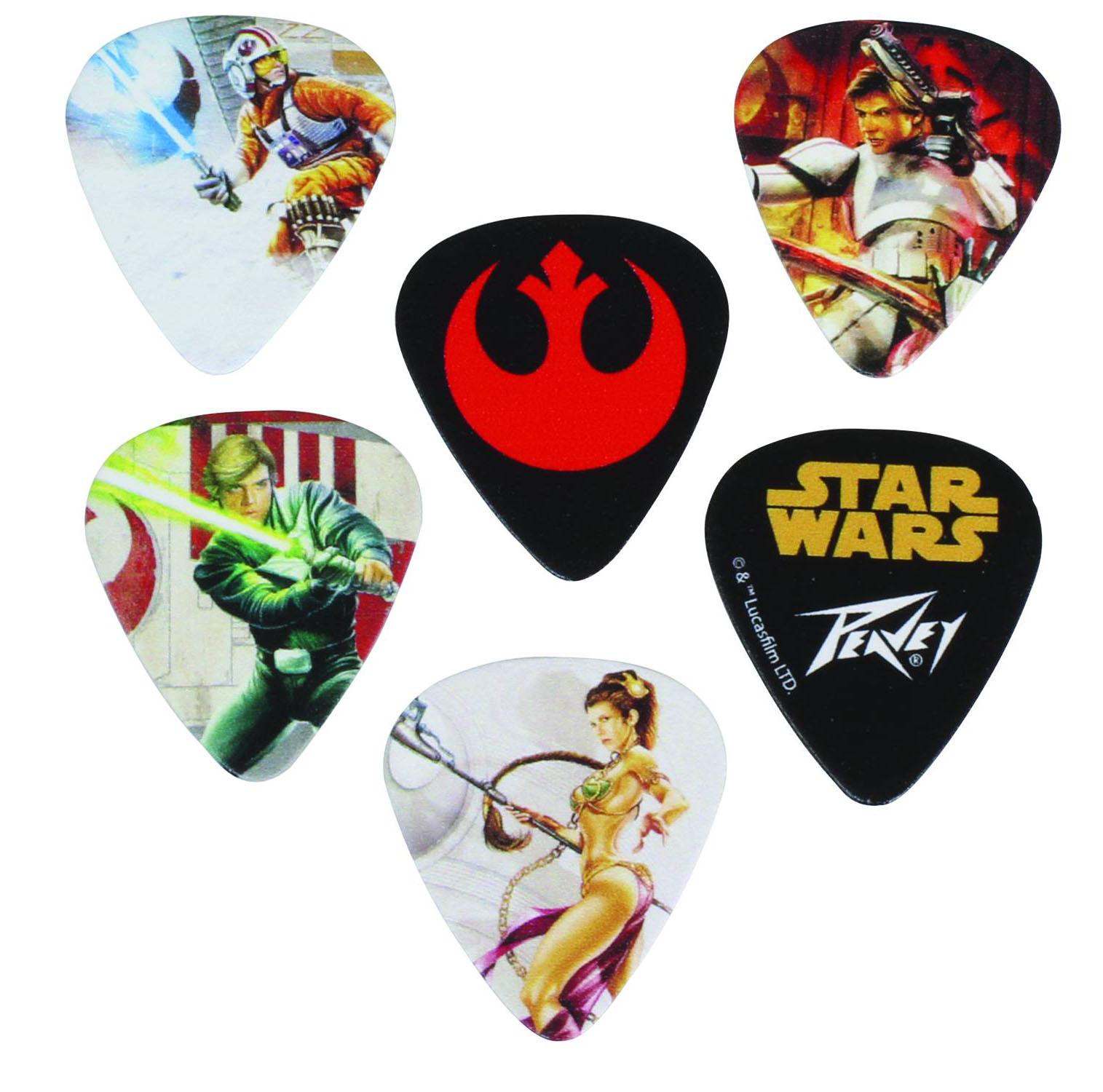 Star Wars Light Side Guitar Pick 12 Pack