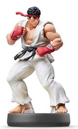 amiibo Ryu Super Smash Bros.
