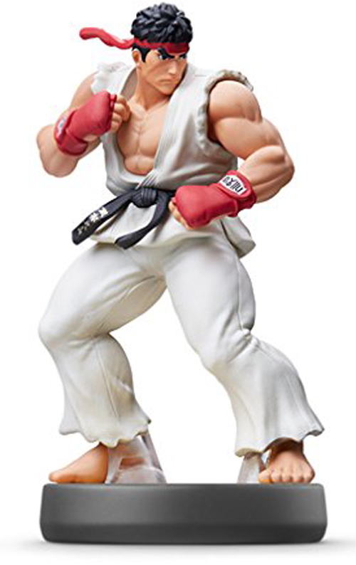 amiibo Ryu Super Smash Bros