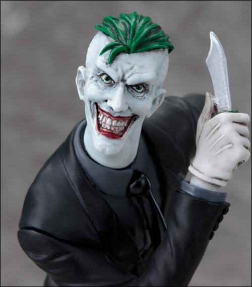 DC Comics Joker New 52 Version 1/10 Scale Statue 1