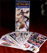 One Punch Man Postcards and Mini Playing Cards Set