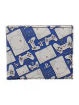 Playstation Pattern Bi-Fold Wallet