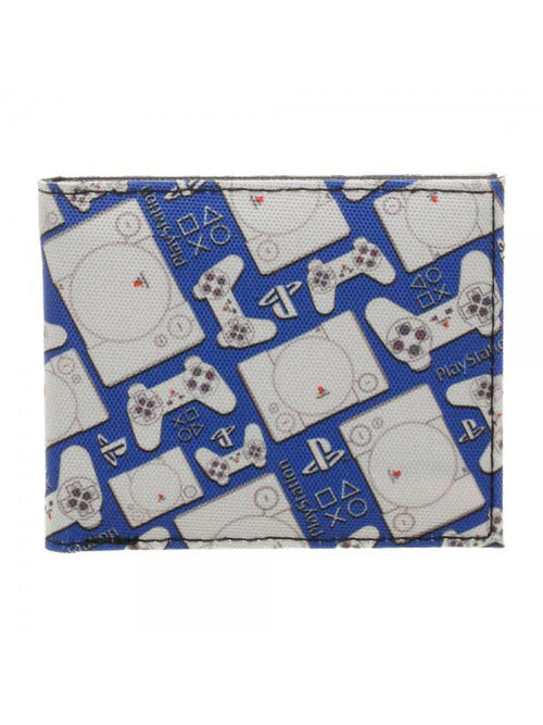 Playstation Pattern Bi-Fold Wallet