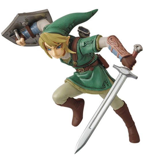Legend of Zelda Twilight Princess Link Ultra Detail Figure