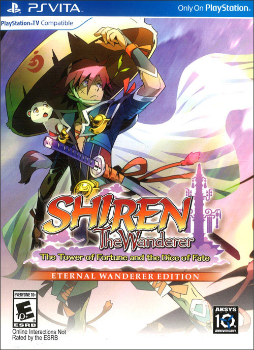 Shiren the Wanderer: Tower of Fortune and Dice of Fate Eternal Wanderer Edition