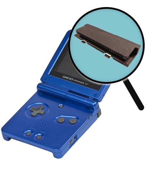 Game Boy Advance SP Repairs: Cartridge Slot Replacement Service