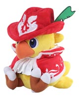 Chocobo's Mystery Dungeon Every Buddy! Chocobo Red Mage 7 Inch Plush