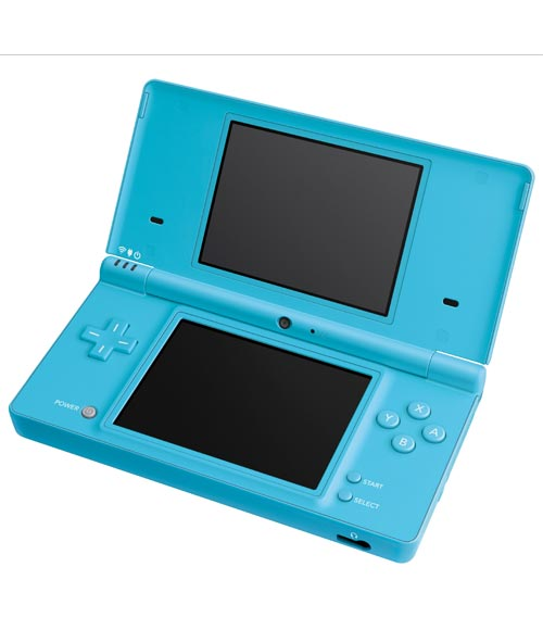 Nintendo DSi Aqua Blue Refurbished System - (Grade A)