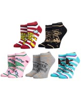 Harry Potter Honeydukes Ankle Socks 5 Pack