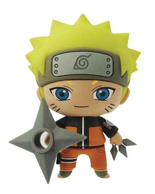 Naruto Shippuden Naruto 3D Foam Magnet
