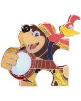 Banjo Kazooie Jiggy Pin