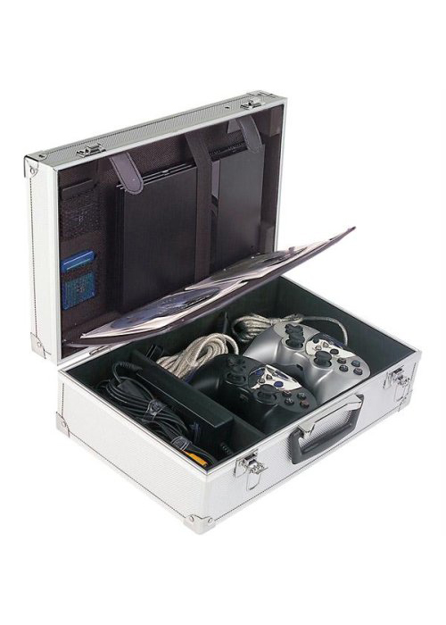 PS2 Aluminum Carrying Case by Intec