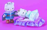 Hello Kitty Sleeping Beauty Plush Set