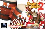 Donkey Konga 2 with Bongo Drum Controller