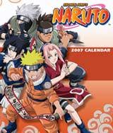 Naruto: 2007 Wall Calendar