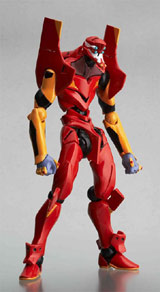 Neon Genesis Evangelion EVA Unit-02 Movie Version Revoltech Action Figure