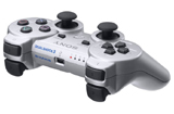 Playstation 3 DualShock 3 Controller Silver by Sony