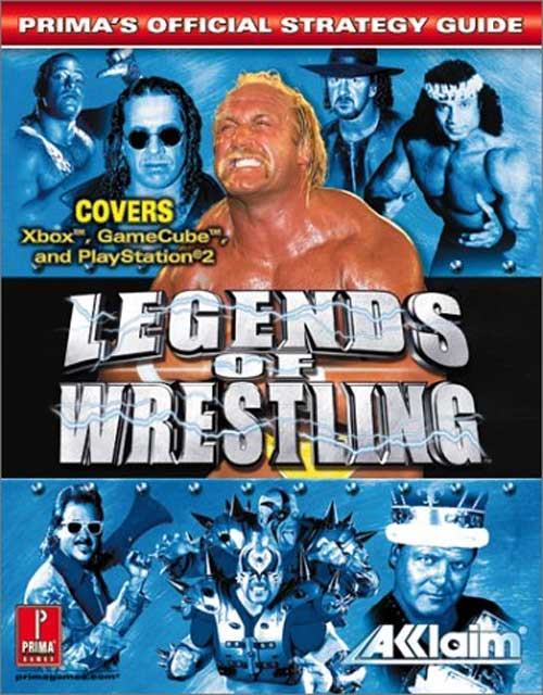 Legends of Wrestling Official Strategy Guide Book