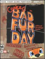 Conker's Bad Fur Day Official Strategy Guide Book