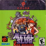 Metal Slug: 2nd Mission NeoGeo Pocket Color