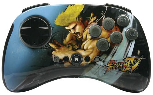 PS3 Street Fighter IV FightPad Round 2 - Guile