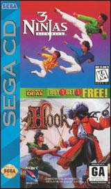 3 Ninjas Kick Back & Hook Double Deal