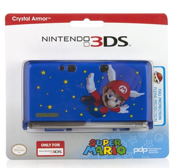 Nintendo 3DS Super Mario Crystal Armor Case