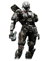 Halo 4 Play Arts Kai Spartan Sarah Palmer Action Figure