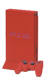 Sony Playstation 2 Super Red Limited Edition