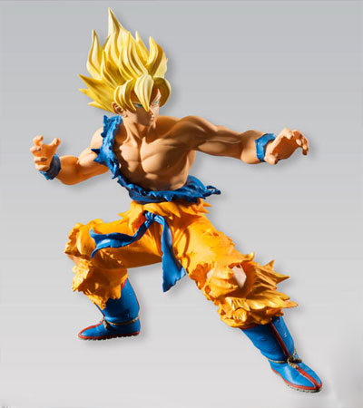 Dragon Ball Styling Super Saiyan Goku Figure