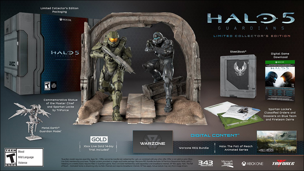 Halo 5 Collectors Ed