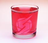 Arts & Crafts: Metroid Prime Samus Logo Custom-made 13oz Glass