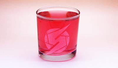 Metroid Prime Samus Logo 13oz Glass