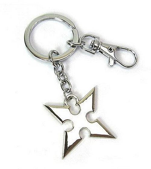 Kingdom Hearts II Roxas Cross Keychain