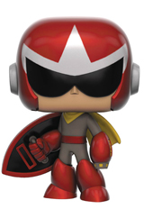 Pop Games Mega Man Protoman Vinyl Figure