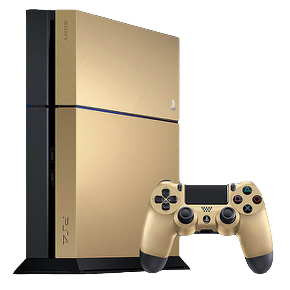 Sony PlayStation 4 500GB Gold System Taco Bell Limited Edition